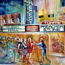 CD Preacher Stone-Remedy/Hard Southern Rock USA 2016/Lynyrd Skynyrd