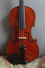 """Beautiful Old 4/4 violin Branded And labeled """"Heinrich Th. Heberlein Jr. 1911�"""