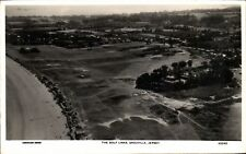More details for jersey. the golf links, grouville # 43340 by aerofilms. aerial view.