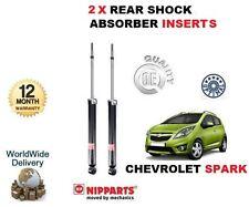 FOR CHEVROLET SPARK 1.0 1.2 2010-12 NEW 2X REAR SHOCK ABSORBER INSERT LEFT/RIGHT