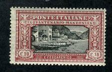 Italy, Scott #165, Fishing Scene, Mint Never Hinged, 1923