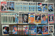 (52) Assorted Kevin Seitzer Trading Cards 1987-93 (18 different cards)