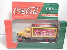 1993  COCA COLA DIE CAST VINTAGE VEHICLES DELIVERY TRUCK PETERBILT 1:64 SCALE