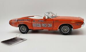 Franklin Mint 1/24 1971 Dodge Challenger Indy 500 Pace Car limited 0688/5000 MIB