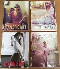 "Taylor Swift Official Spiral Notebooks, 8 1/2"" x 11"", School Supplies, Lot Of 4"