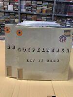 Gospelbeach LP Let It Burn Color Vinyl Limited Edition Versiegelt
