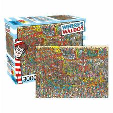 Aquarius Where's Waldo 3000pc Jigsaw Puzzle - JP-68507