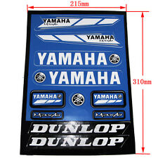 planche stickers autocollant adhésif Moto yamaha EN STOCK