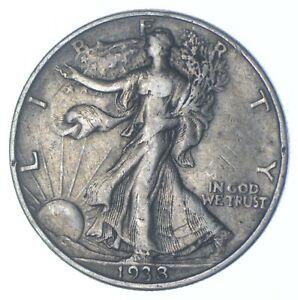 1938 Walking Liberty 90% Silver US Half Dollar *747