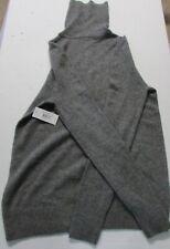$318 Equipment Oscar Cashmere Turtleneck Sweater, Heather Grey, XSmall