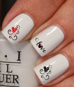 Mickey Minnie Mouse Disney stickers autocollant ongles manucure nail art déco