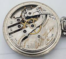 Hampden 16s 17j OF base case Pocket Watch -pcDD