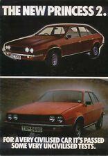 Austin Princess 2 L HL HLS 1978-79 Original UK Sales Brochure Pub. No. 3299/A