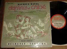 Inghelbrecht RAVEL Daphnis et Chloe - Ducretet-Thomson 320 C 015 French Pressing