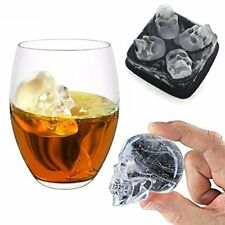 Ice Cube Maker Mould Skull Tray Drinks Cooler Beverage Chill Bar Home Party DIY