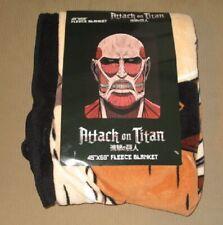 New Big Face Colossal Titan Attack on Titan SOFT Plush Throw Gift Blanket Anime