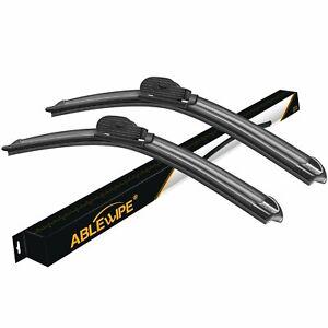 ABLEWIPE Fit For GMC Sierra 1500 2018-2014 Windshield Wiper Blades (Set of 2)