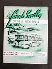 LOUGH SWILLY LONDONDERRY BUS SERVICES OMNIBUS TIMETABLE 1970 1971