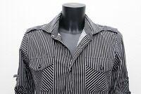 Cotton Smart Shirt Blouse Size Small 6 8 UK
