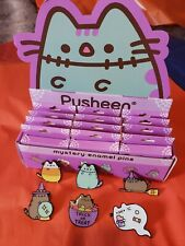 Pusheen Halloween Mystery enamel pin .Complete  set of 6.
