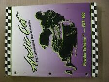 1997 arctic cat snowmobile Service Manual powder extreme ext 600 #147