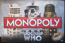 Monopoly Doctor Who Collector's Edition fast Dealing & trading property game NEW