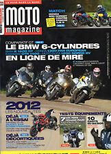 ** Moto Magazine n°282 La Namibie en BMW F 800 GS / Kawasaki ER-6n