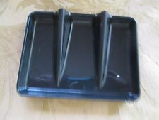 TUPPERWARE GADGET*RETRO KITCHEN SOAP DISH HOLDER IN BLACK**NEW*OLD STOCK  1983