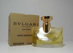 Bvlgari Parfums pour FEMME  100ml Tstr VINTAGE RARE DISCONTINUED