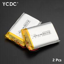 3.7V 2000mAh Li-polymer Battery 103450 For DVD GPS Camera Electric Toy 2Pcs E6D