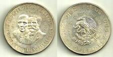 MEXICO. 10 PESOS. 1960. INDEPENDENCIA Y LIBERTAD. SILVER