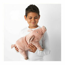 Ikea KNORRIG Soft Toy Pink Pig or Piglet Stuffed Animal Plush NEW