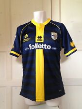MAGLIA CALCIO PARMA MATCH WORN ISSUED INDOSSATA PREPARATA SERIE A SHIRT TRIKOT