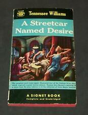 1964 Tennessee Williams A Streetcar Named Desire Signet D1529 Pulitzer Prize Pho