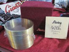 Vintage 40th Anniversary Limited Collectors Edition Slinky 20430/24000 Sealed