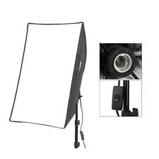 "Studio Lighting 50X70cm Portable Softbox 20""X28"" Square Reflector E27 Diffuser"