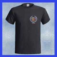 Cadillac Car LOGO Classic Sedan NEW Men's Black T-Shirt Size S M L XL 2XL 3XL