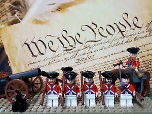 LEGO Revolutionary War Redcoat British Soldiers NEW 100% Genuine LEGO READ