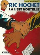 TIBET . RIC HOCHET N°42 . LA LISTE MORTELLE . EO . 1986 .