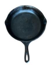 """Vintage Wagner Ware #1060E Sidney -O- Cast Iron #10 Skillet 12"""""""