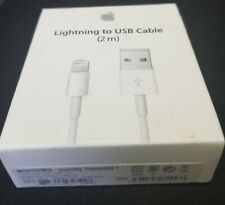 Apple iPhone Lightning USB Cable 2m - White