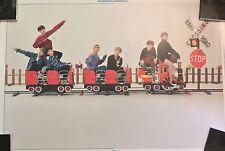 BTS Group Japan Fan Meeting Vol.3 Official Unfolded Poster Bangtan