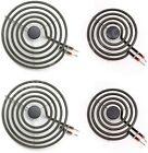 "MP22YA Electric Range Burner Element Unit Set 2 pc MP15YA 6"" 2 pc MP21YA 8''-4PK photo"