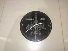 RAF Tornado Clock Wall Mounted Hanging Timepiece
