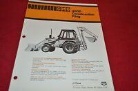 Case Tractor 480D Backhoe Loader Dealers Brochure DCPA4
