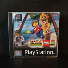 ISOLA LEGO 2 SONY PLAYSTATION 1 PS1 PS2 PS3 COMPLETO TOMBI PAL ITALIANO