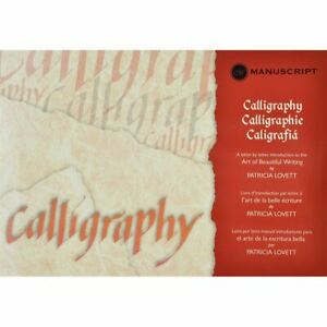 CALLIGRAPHY MANUAL-LETTER BY