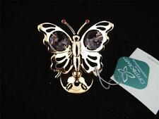 Crystocraft Free Standing Mini Butterfly Ornament.