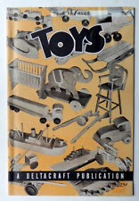 ROCKWELL Mfg DELTA POWER TOOLS Book #4544 Plans for Making WOODEN TOYS 1944