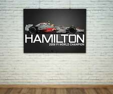 New listing Lewis Hamilton McLaren MP4/23 2008 F1 Print - Scuderia GP